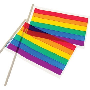 rainbow flags 4x6 plastic d30 buy flags banners accessories