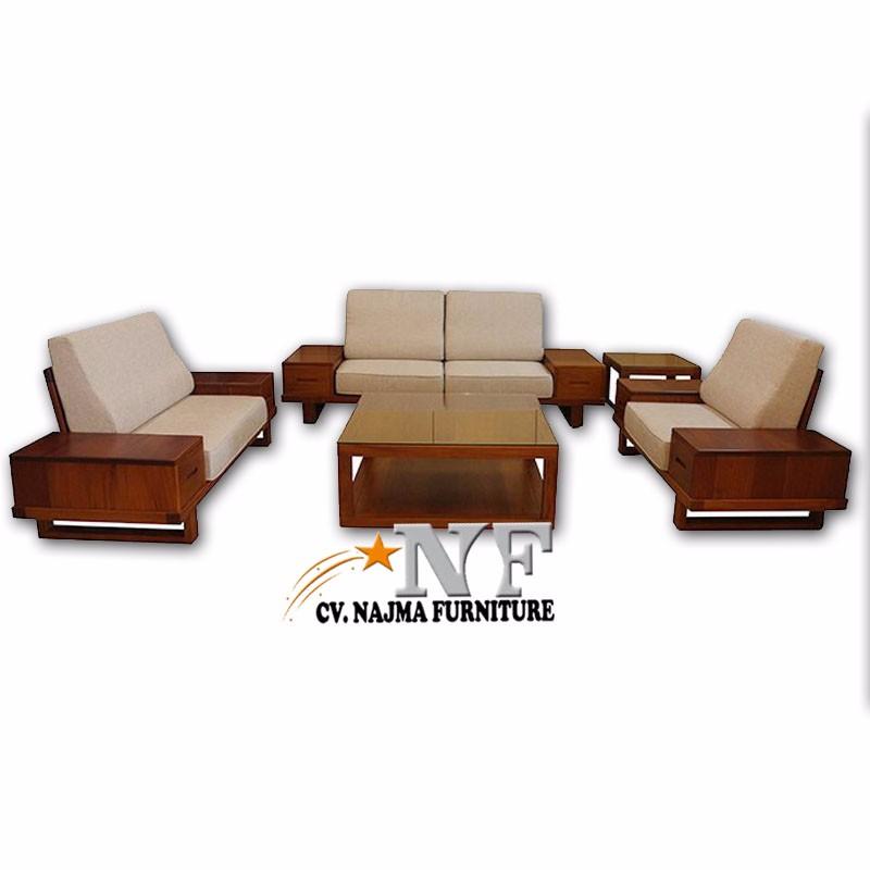Clic Modern Wooden Sofa Set Designs