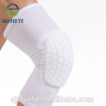 6e42ea53b5 knee compression sleeve - Adult children Anti-slip Honeycomb Knee Pad for Basketball  volleyball knee