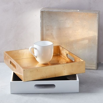 Vietnam MDF square lacquer trays