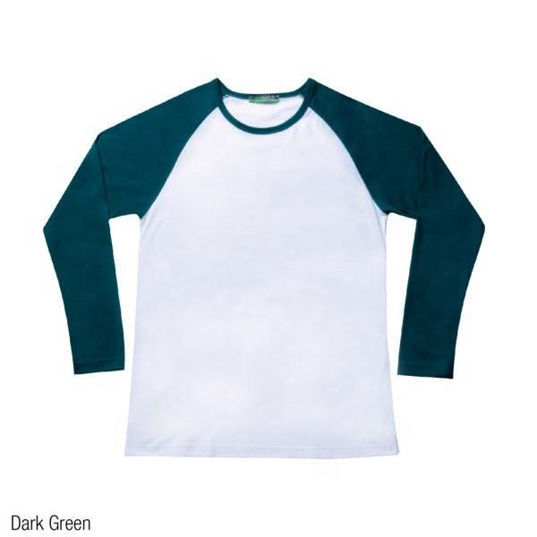 Men's T-Shirt Raglan 3/4 Sleeve