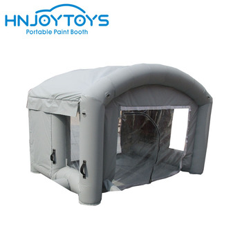 PVC material high quality good discount price car paint booth for sale
