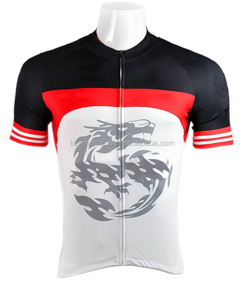 Children Boy's Compression Shirt Funny Cycling Jersey