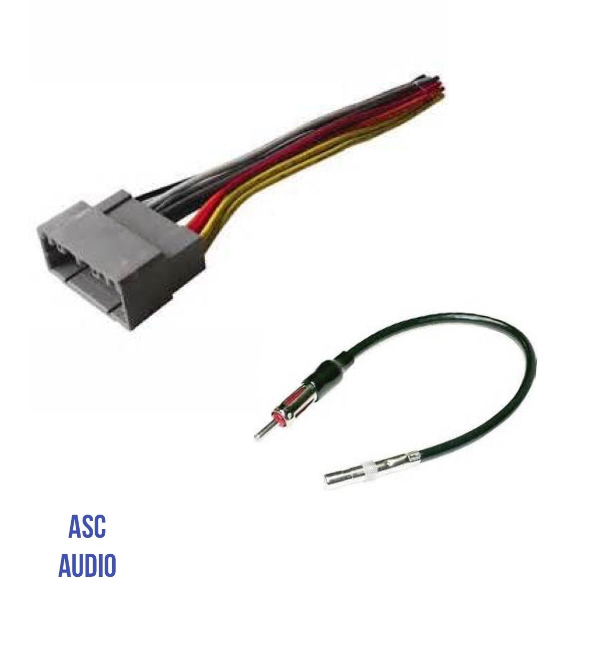 Buy Asc Audio Car Stereo Wire Harness And Antenna Adapter For Some Aftermarket Wiring To Install An Radio Select