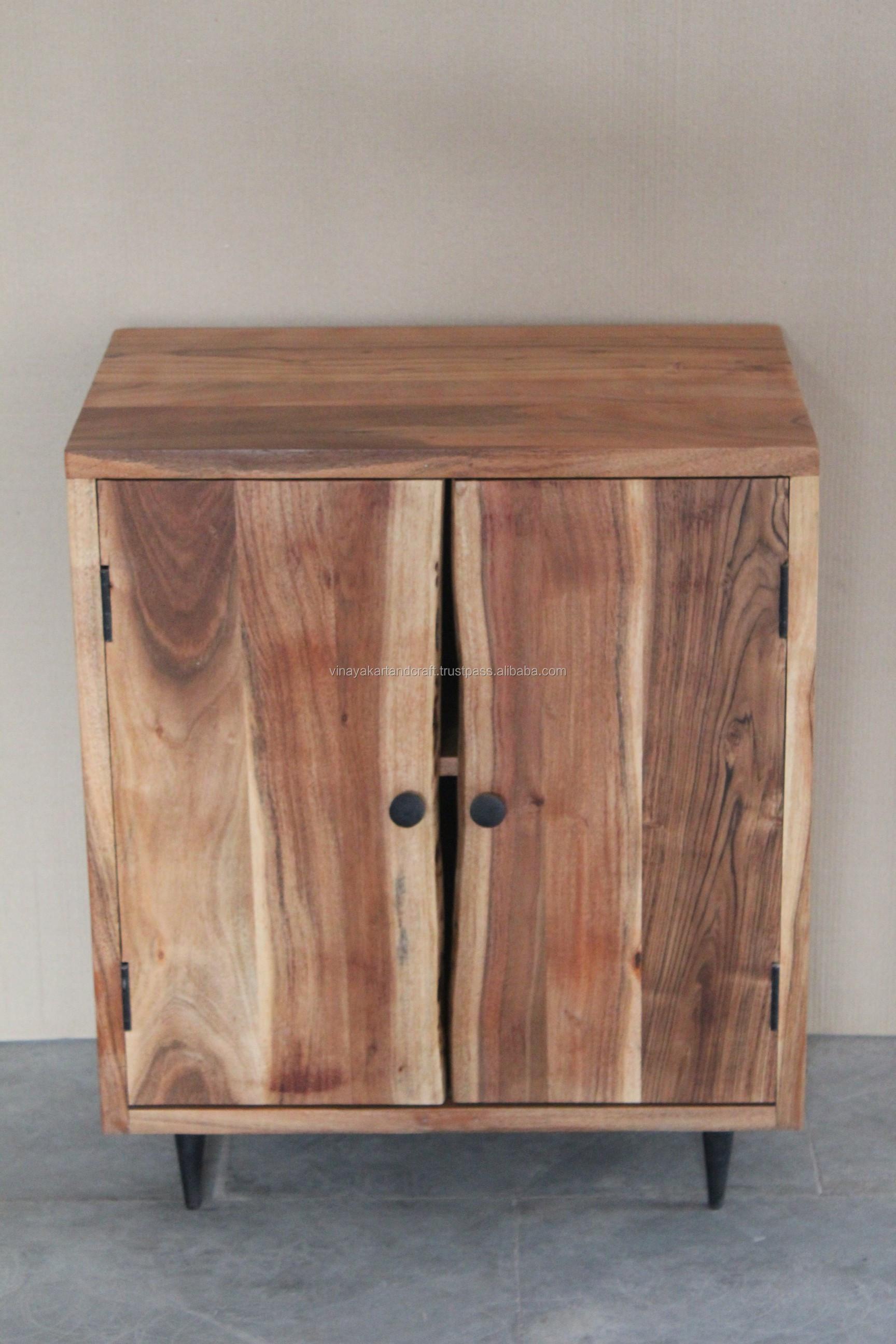 Modern living room wooden cabinet living room furniture antique live edge acacia wood cabinet vintage solid wood cabinet buy wooden cabinetvitrine