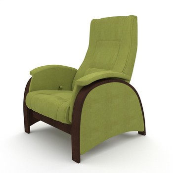 Armchair G2 Walnut Veneer (Apple Green), Living Room Chairs