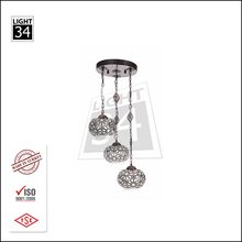 Triple Luminaire Home Cafe Restaurant Interior Lighting Chandelier Traditional Hanging Light