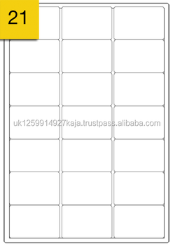 self adhesive address labels a4 size 21 labels per sheet buy