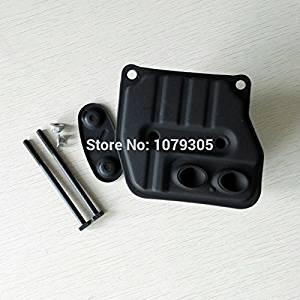 45cc 52cc 58cc Chainsaw two holes muffler 4500 5200 5800 Chain saw muffler kit
