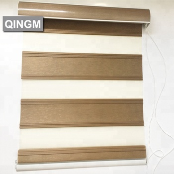 Gold Supplier Supply Polyester Zebra Blinds for Window blinds