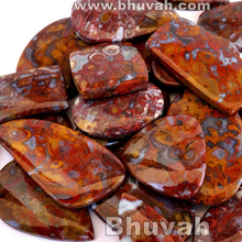natural beautiful new arrival hot sale red plume agate gem stone