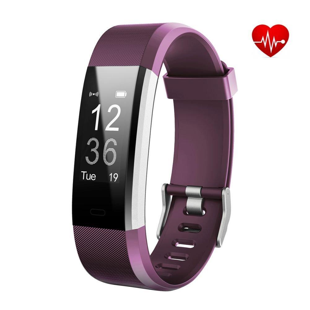 Fitness Tracker, Warmlk ID115 Plus Smart Bracelet Alarm Clock Meter Smart Bracelet Bluetooth Sport Fitness sleep Tracker Monitor Track