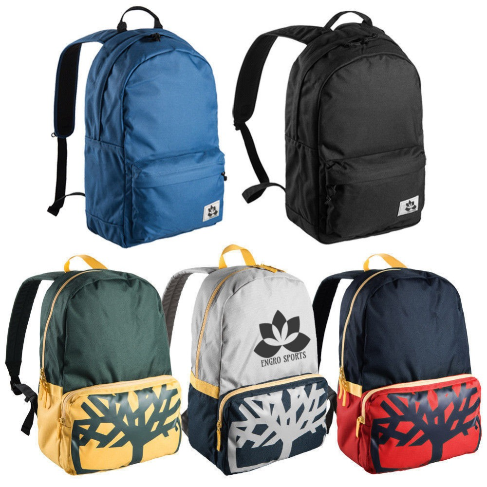 Backpack bags Leisure Bag Backpack Bag black blue red New Engro Sports 3a5575ad8a