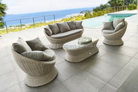 HOT NEW SOFA SET 2017 POLY RATTAN FURNITURE