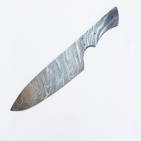 13'' Damascus steel blank blade;chef knife blade