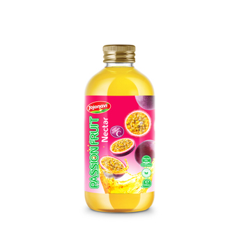 Vietnam Wholesale beverage drink nectar passion fruit with pulp JOJO NAVI beverage