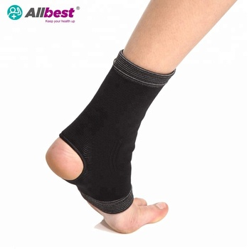Elastic Bamboo Charcoal Open Ankle Support