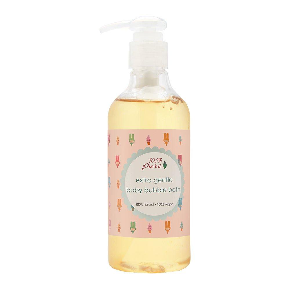 100% Pure Extra Gentle Baby Bubble Bath, 8.79 Fluid Ounce