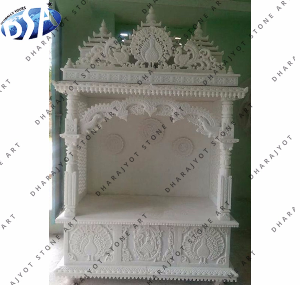 Natural Stone Indoor Home Temple Antique Marble Indian Mandir