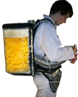 Backpack drink dispenser mobile serving System