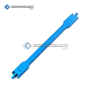 Anodized Blue Ortho Bracket Height Gauge Bracket Positioner Gauges ODM