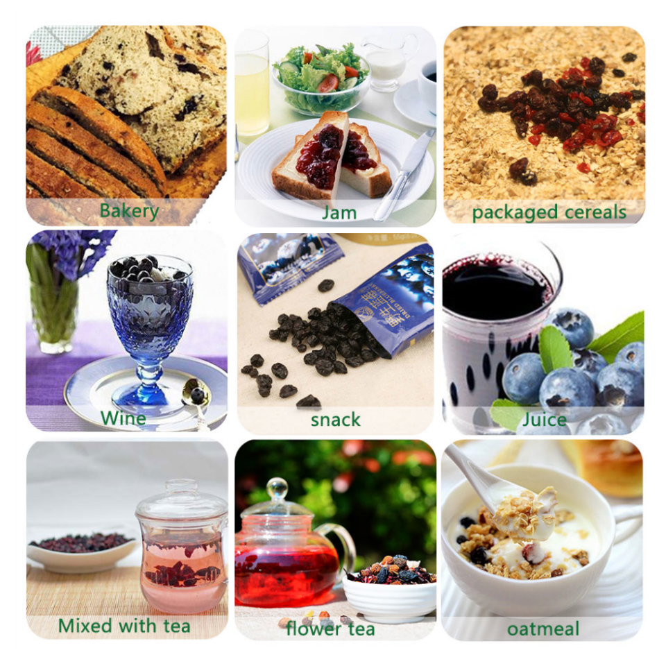 No Sugar Added Healthy Snack Xylitol Dried Lingonberry Preserved Fruit Lingonberry