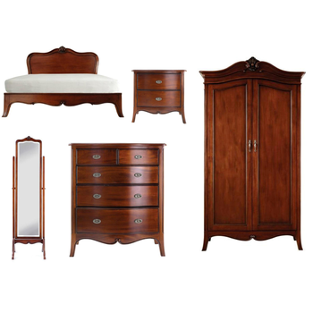 Furniture Classic Olivia Bedroom Set   Mahogany Bedroom Furniture Indonesia