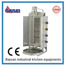 High Quality Stainless Steel Gas Shawarma Machine Price In Kenya And In Qatar
