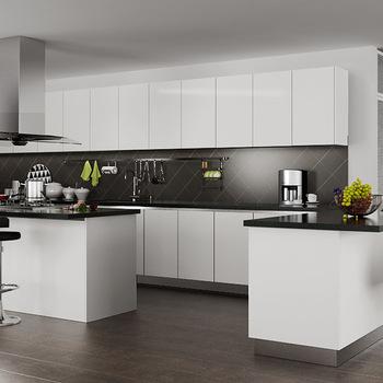 Oppein Design Modern White High Gloss Kitchen Cabinet ...