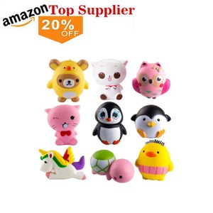 amazon best sellers China best selling Soft PU foam toys for children slow rising Maid squishy for kids and adult