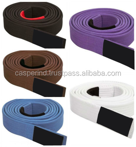 Hot Selling Belt Sample Pre-Shrunked Soft Washed Customized Wholesale Bjj Gi jiu jitsu Gi Belt