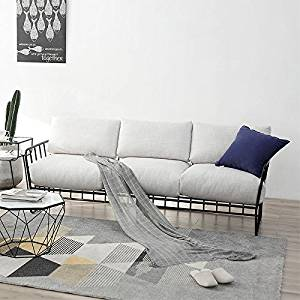 Get Quotations Lzl Sofa Creative Simple Furniture Iron Art Coffee Single Double Chair Combination