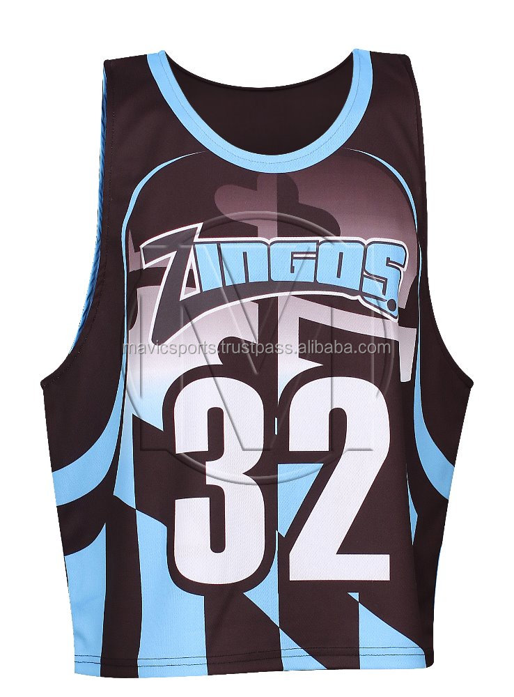 Sublimated Lacrosse Reversible Pinnies