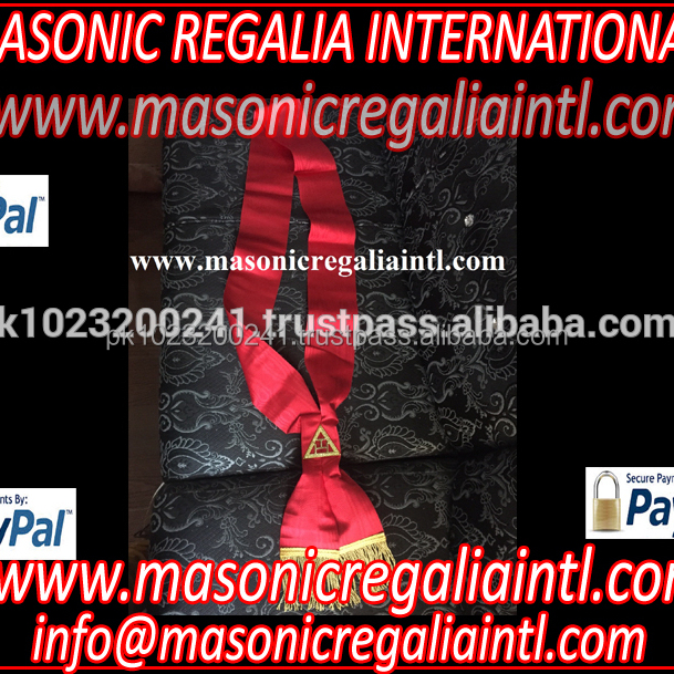 MASONIC ROYAL ARCH MASONRY CHAPTER BANNERS 4 pcs SET