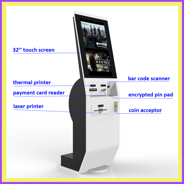 Bill Payment Kiosk With Thermal Printer Card Reader Touch Screen Oem Odm Manufacuturer Buy