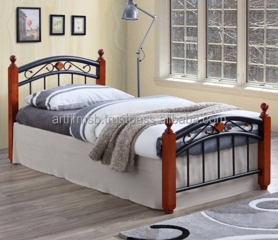 Lexus Metal Wooden Single Bed Buy Single Bed Metal Bed Wooden Bed Product On