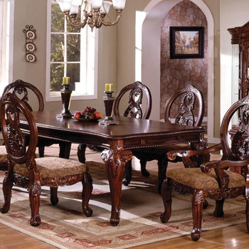 Glass Top Dining Furniture Chairs Designs Luxury Dining Set Wooden Carved Solid Wood Designer Teak Wood Buy Granite Top Dining Table Setmodern
