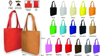 B1g01 A4 Size Non Woven Bag (plain Color) 60dfe95045b6f