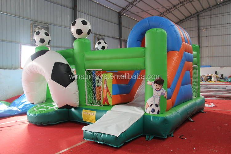 inflatable combo bouncer with slide, house bouncer with slide, inflatable children's bouncer