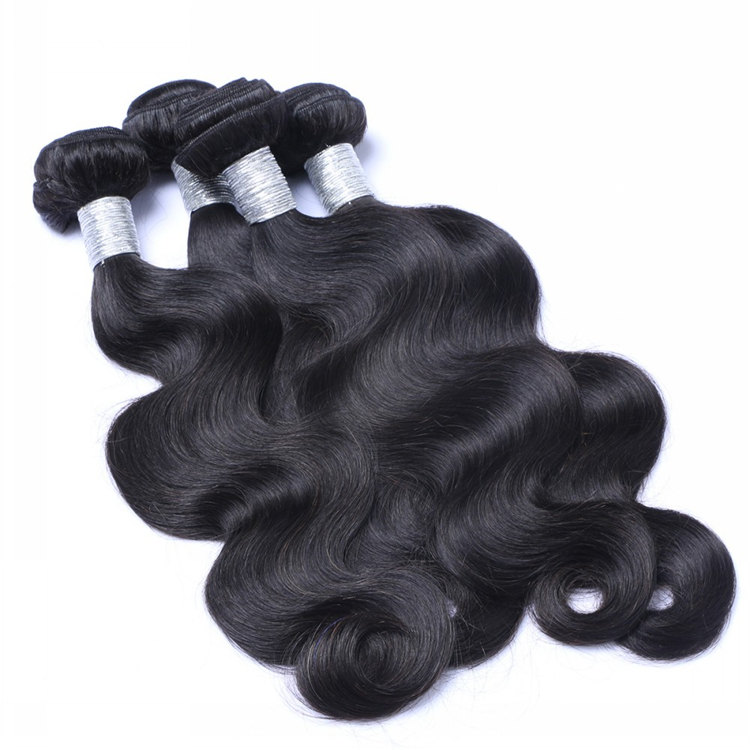 Factory Wholesale Price Human Weft Body Wave Virgin Brazilian Hair In Mozambique