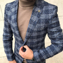 Mens Blazer Casual Jacket New Fashion 2018 Italy Jacket