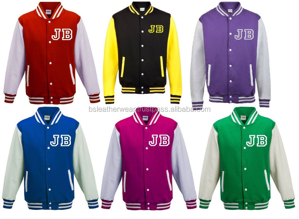 Custom Letterman Varsity Jacket for Australia , U S A , Germany , U K , Poland , France , Pakistan , Dubai