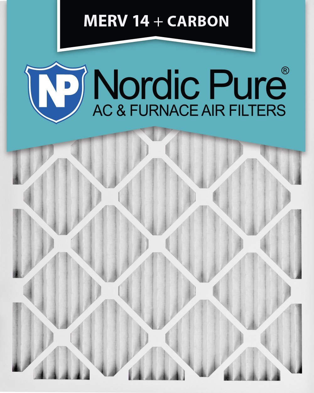 Nordic Pure 18x25x1 Pure Green Eco-Friendly AC Furnace Air Filters 12 Pack