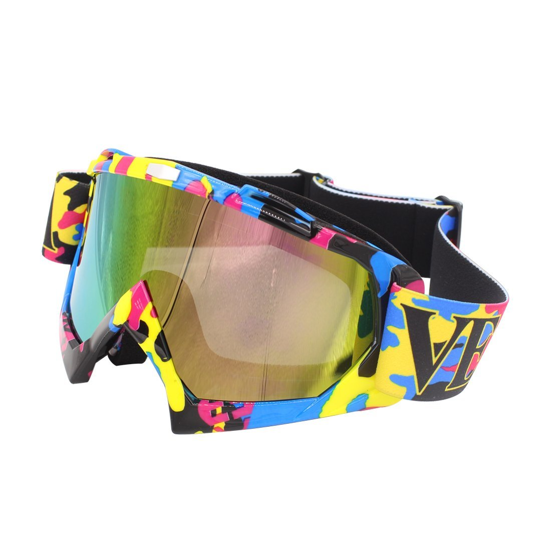 e3cead08c5 Get Quotations · Motorcycle Goggles - ATV Riding Goggles Glasses