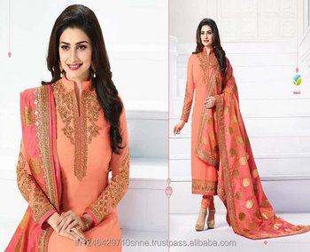 Latest Designer Salwar Suit Anarkalli Georgette Work Bridal Partywear Whole Expert Quality