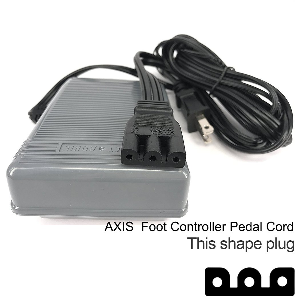 Get Quotations · Foot Controller and Power Cord 359102-001 Singer Foot  Pedal Control Fits Many Sewing Machine