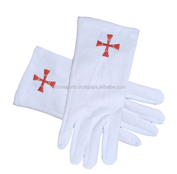Knights Of Templar Regalia Masonic White Cotton Gloves - Buy Knights  Templar Rings,Knight Templar Uniforms,Gloves With Heater Product on  Alibaba com