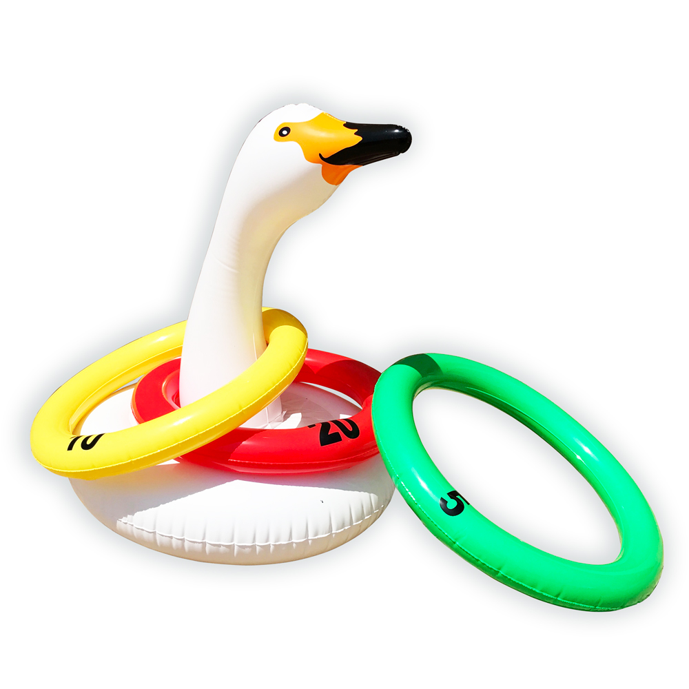 High Quality Good Price Germany Swan Ring Toss Game of Water Game Toys