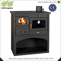 Wood Bruning Cooking Stove With Oven Prity 1P34