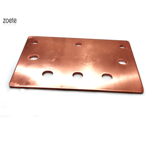 ISO9001 factory 99.9% pure flat copper bar